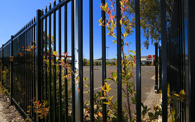 Security fencing in Maitland